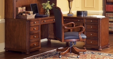 L-Shaped Desk - Executive Office Furniture / Home Office Furniture - 1205-48