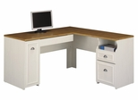 L-Shaped Desk - Fairview Collection - Bush Office Furniture - WC53230-03