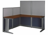 L-Workstation - Office-in-an-Hour Collection - Bush Office Furniture - WC36494C-03