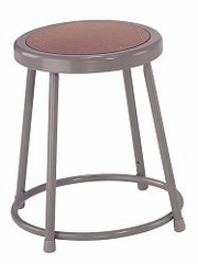 "Lab Stool - 18"" Stool with Hardboard Seat - National Public Seating - 6218"