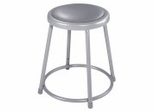 "Lab Stool - 18"" Stool with Padded Seat - National Public Seating - 6418"
