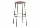 "Lab Stool - 30"" Stool with Hardboard Seat - National Public Seating - 6230"
