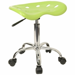 Lab Stool in Apple Green - LF-214A-APPLEGREEN-GG