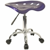 Lab Stool in Deep Blue - LF-214A-DEEPBLUE-GG