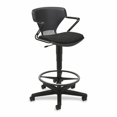 Lab Task Shell Stool - Black - HONG44H11BW19T