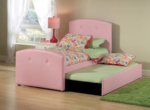 Laci Twin Size Bed with Trundle - Hillsdale Furniture - 1581BTWRT
