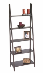 Ladder Bookcase in Espresso - Office Star - ES21