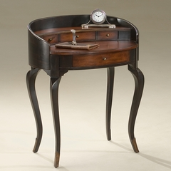 Ladies Writing Desk in Cafe Noir - Butler Furniture - BT-1335104