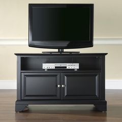 "LaFayette 42"" TV Stand in Black Finish - Crosley Furniture - KF10003BBK"