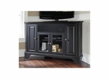 "Lafayette 48"" Corner AroundSound TV Stand in Black - CROSLEY-KF1006BASBK"