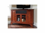 "Lafayette 48"" Corner AroundSound TV Stand in Classic Cherry - CROSLEY-KF1006BASCH"