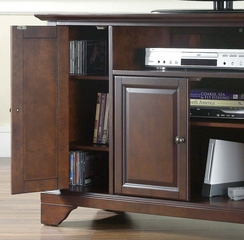 "LaFayette 48"" TV Stand in Vintage Mahogany Finish - Crosley Furniture - KF10002BMA"