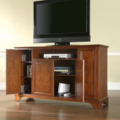 "LaFayette 60"" TV Stand in Classic Cherry Finish - Crosley Furniture - KF10001BCH"