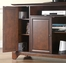 "LaFayette 60"" TV Stand in Vintage Mahogany Finish - Crosley Furniture - KF10001BMA"