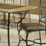 Lakeview 7-Piece Rectangle Dining Set with Slate Chairs in Brown - Hillsdale Furniture - 4264DTBRTCS7