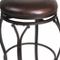 Lakeview Backless Bar Stool in Brown - Hillsdale Furniture - 4264-832