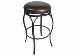 Lakeview Backless Counter Stool in Brown - Hillsdale Furniture - 4264-828