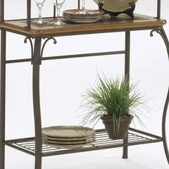 Lakeview Baker's Rack - Slate in Brown - Hillsdale Furniture - 4264-850