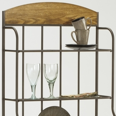 Lakeview Baker's Rack - Wood in Brown - Hillsdale Furniture - 4264-851