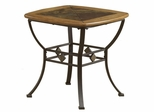 Lakeview End Table with Wood/Slate Top - Hillsdale Furniture - 4264-884