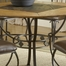 Lakeview Round Dining Table in Brown/ Medium Oak - Hillsdale Furniture - 4264DTBRD