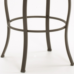 Lakeview Swivel Bar Stool - Slate Accent in Brown - Hillsdale Furniture - 4264-830