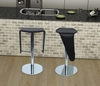 Lamba Barstool in Black - Bellini Modern Living - LAMBA-BS-BLK