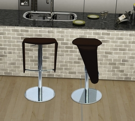 Lamba Barstool in Brown - Bellini Modern Living - LAMBA-BS-BRN