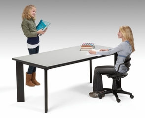 "Laminate Top Library Table (36"" x 72"") - OFM - LIB3672"