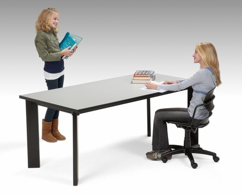 Laminate Top Library Table (48