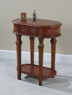 Lamp Table - Crimson - Ultimate Accents - 22938LT