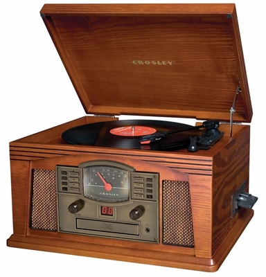 Lancaster Entertainment Cetner in Paprika - Crosley - CR42-PA