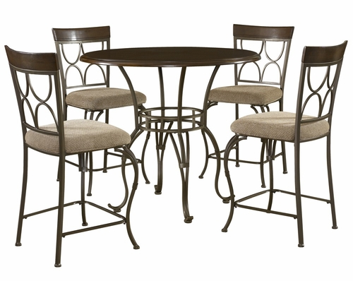 Langley Gathering Table and Stools Set 2 - Powell Furniture - 470-GSET-2
