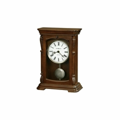 Lanning Hampton Cherry Mantel Clock - Howard Miller