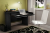 Laptop Desk in Pure Black - Work ID - South Shore Furniture - 7070795