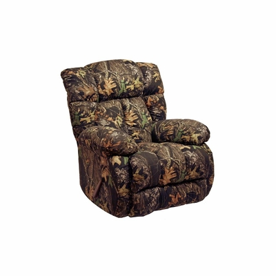 Laredo Camo Chaise Rocker Recliner in Mossy Oak - Catnapper