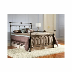 Larent Metal Bed in Antique Bronze - Largo - LARGO-ST-1513X