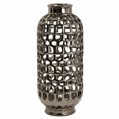 Large Honeycomb Cutwork Lantern - IMAX - 64093