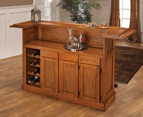 Large Oak Bar - 62576AOAK