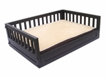 Large Size Habitat 'n Home Mission Dog Bed in Espresso - NewAgeGarden - EHHB102L