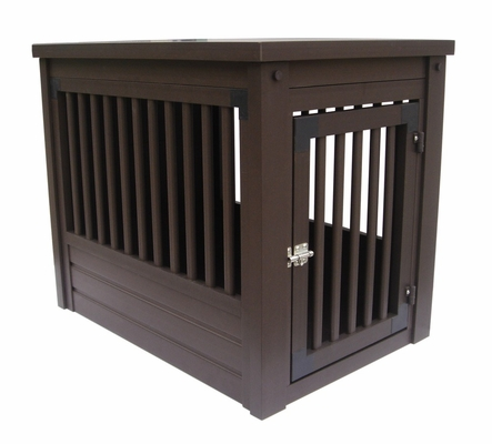 Large Size Habitat 'n Home Mission Pet Crate in Espresso - NewAgeGarden - EHHC102L
