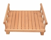 Large Size Log Home Cedar Brown Wood Front Porch - Merry Products - EL001-P