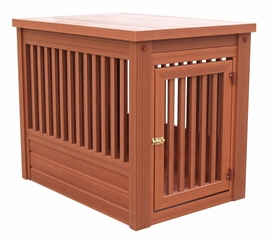Large Size Mission Pet Crate in Chestnut - NewAgeGarden - EHHC101L
