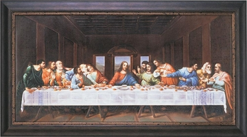 Last Supper Framed Wall Art - 960418