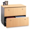 Lateral File Cabinet - Fully Assembled - Series A Beech Collection - Bush Office Furniture - WC14354ASU