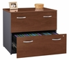 Lateral File Cabinet - Fully Assembled - Series C Hansen Cherry Collection - Bush Office Furniture - WC24454ASU