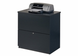 Lateral File Cabinetin Charcoal - Bestar Office Furniture - 65635-67