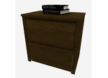 Lateral File Cabinetin Chocolate - Prestige Plus - Bestar Office Furniture - 99630-69