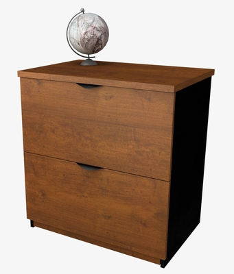 Lateral File Cabinetin Tuscany Brown and Black - Innova - Bestar Office Furniture - 92630-63