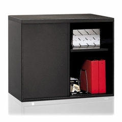 Lateral File Hutch - Black - HON9317P